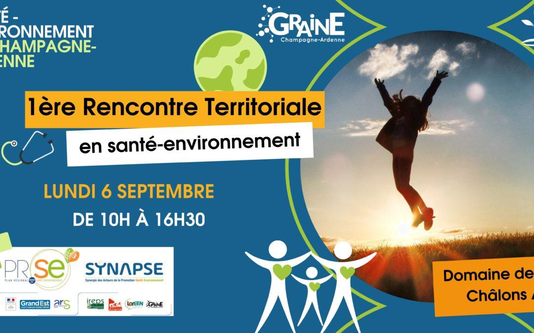 Rencontre territoriale en santé-environnement – 06/09/2021