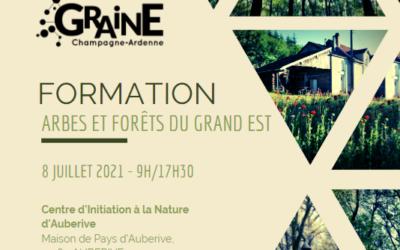 Formation «Arbres et forêts du Grand Est» – 08/07/2021